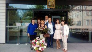 Празник на Кирил и Методий в ДЕСО на МУ - Пловдив