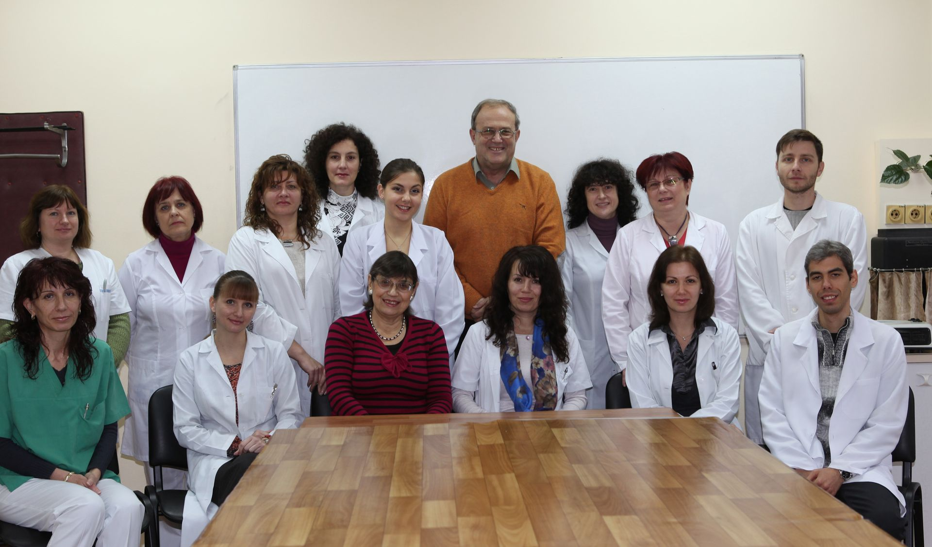 Academic staff Department of Chemistry and Biochemistry, Medical university of Plovdiv