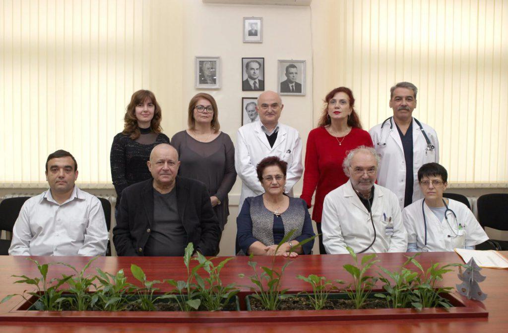 Колектив на катедра по инфекциозни болести, МУ - Пловдив