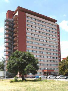 Общежитие на Медицински колеж, Медицински университет - Пловдив
