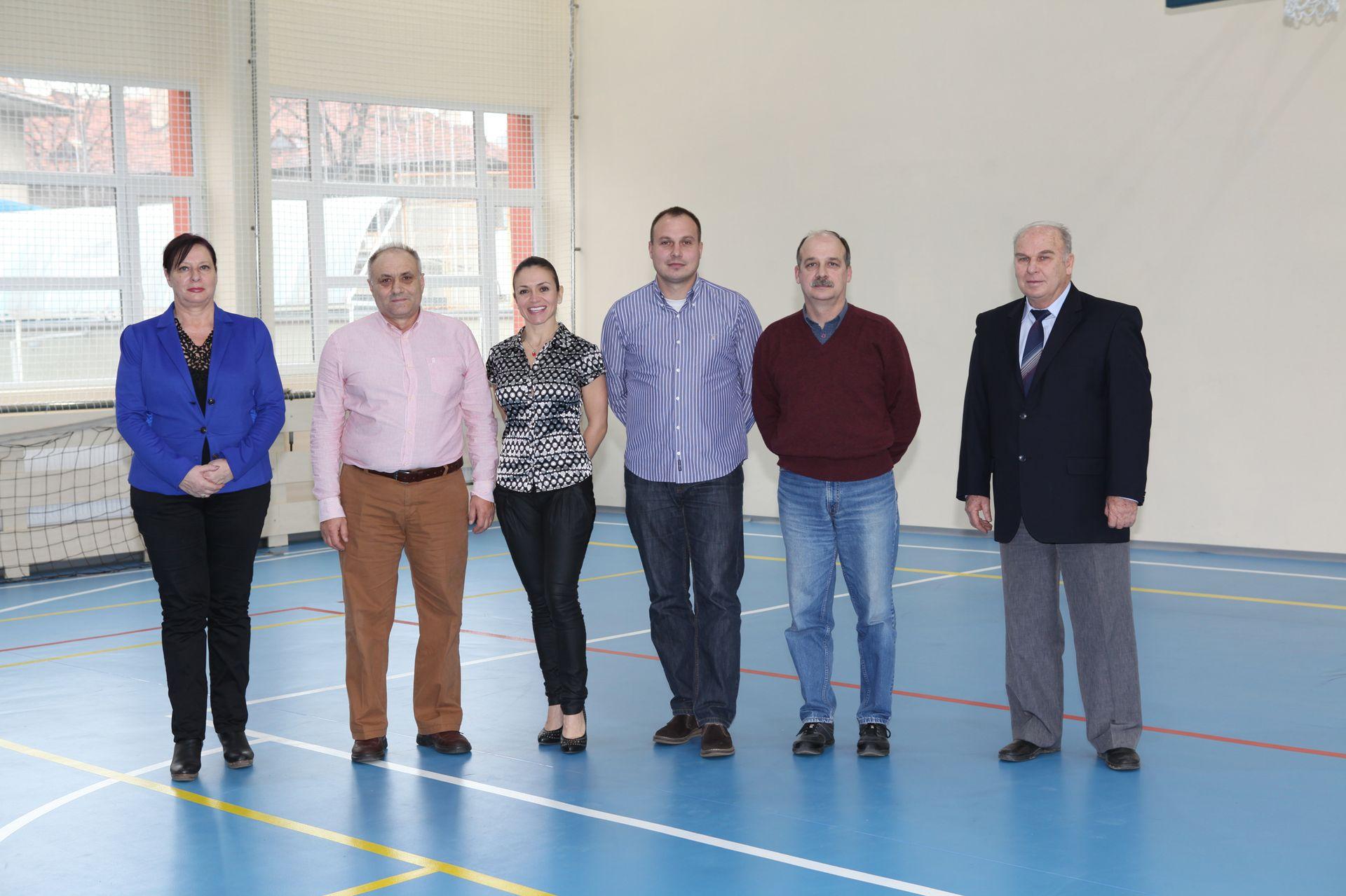 Колектив на катедра физическо възпитание и спорт, МУ - Пловдив