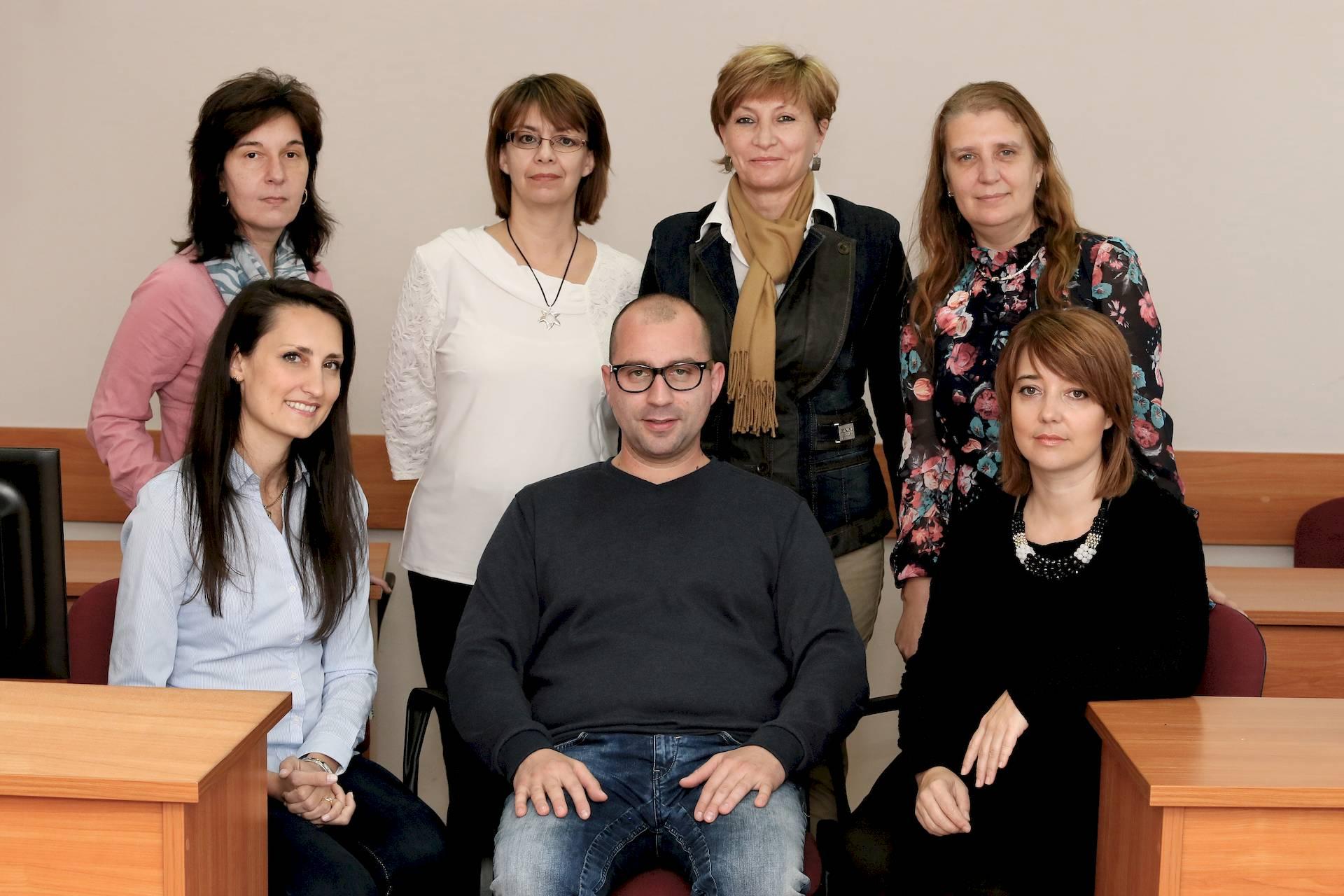 Колектив на катедра по медицинска информатика и биостатистика, МУ - Пловдив
