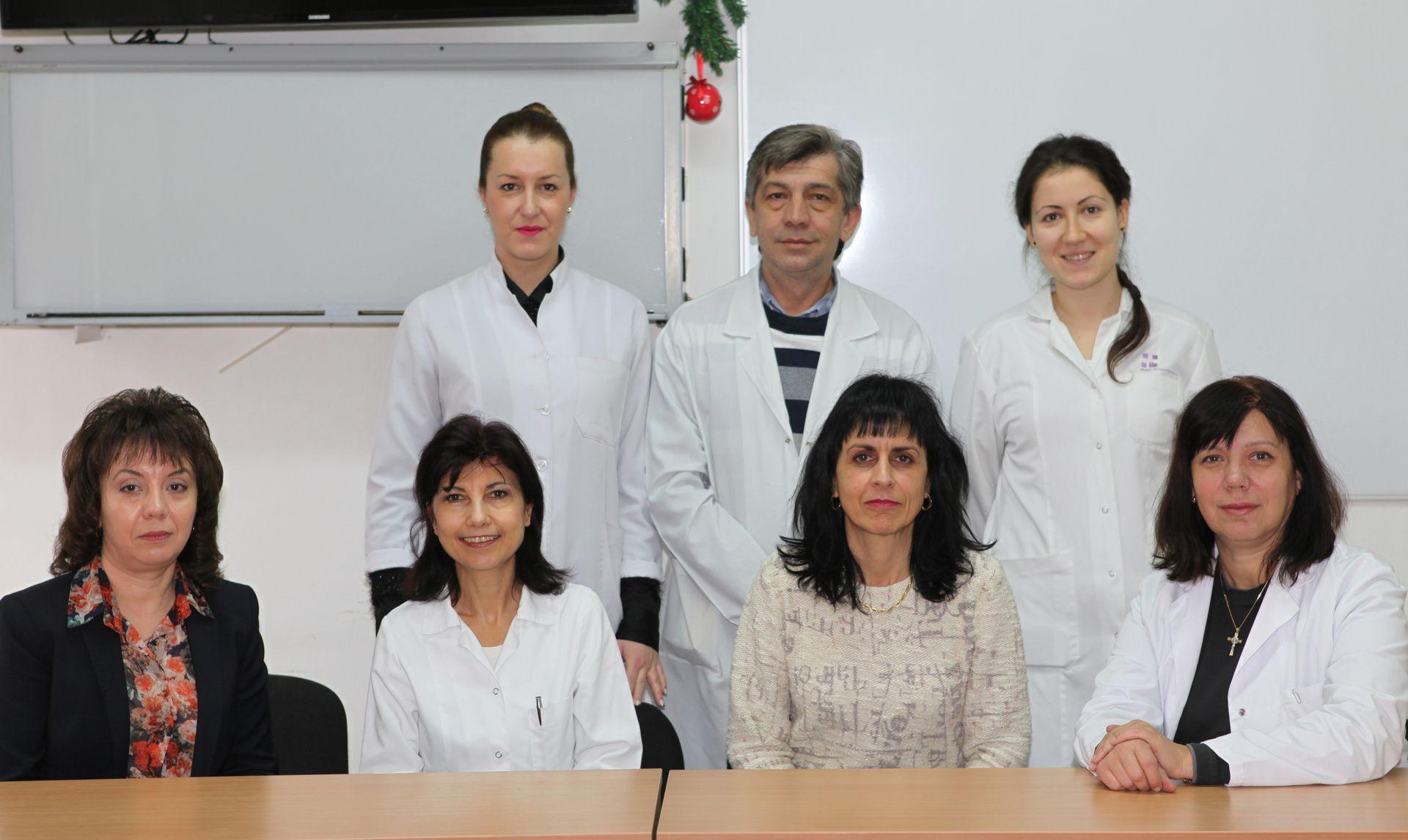 Колектив на катедра по нефрология, Медицински университет - Пловдив
