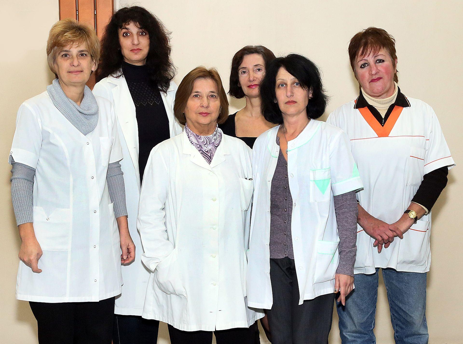 Колектив на специалност Медицински лаборант, МК, МУ - Пловдив