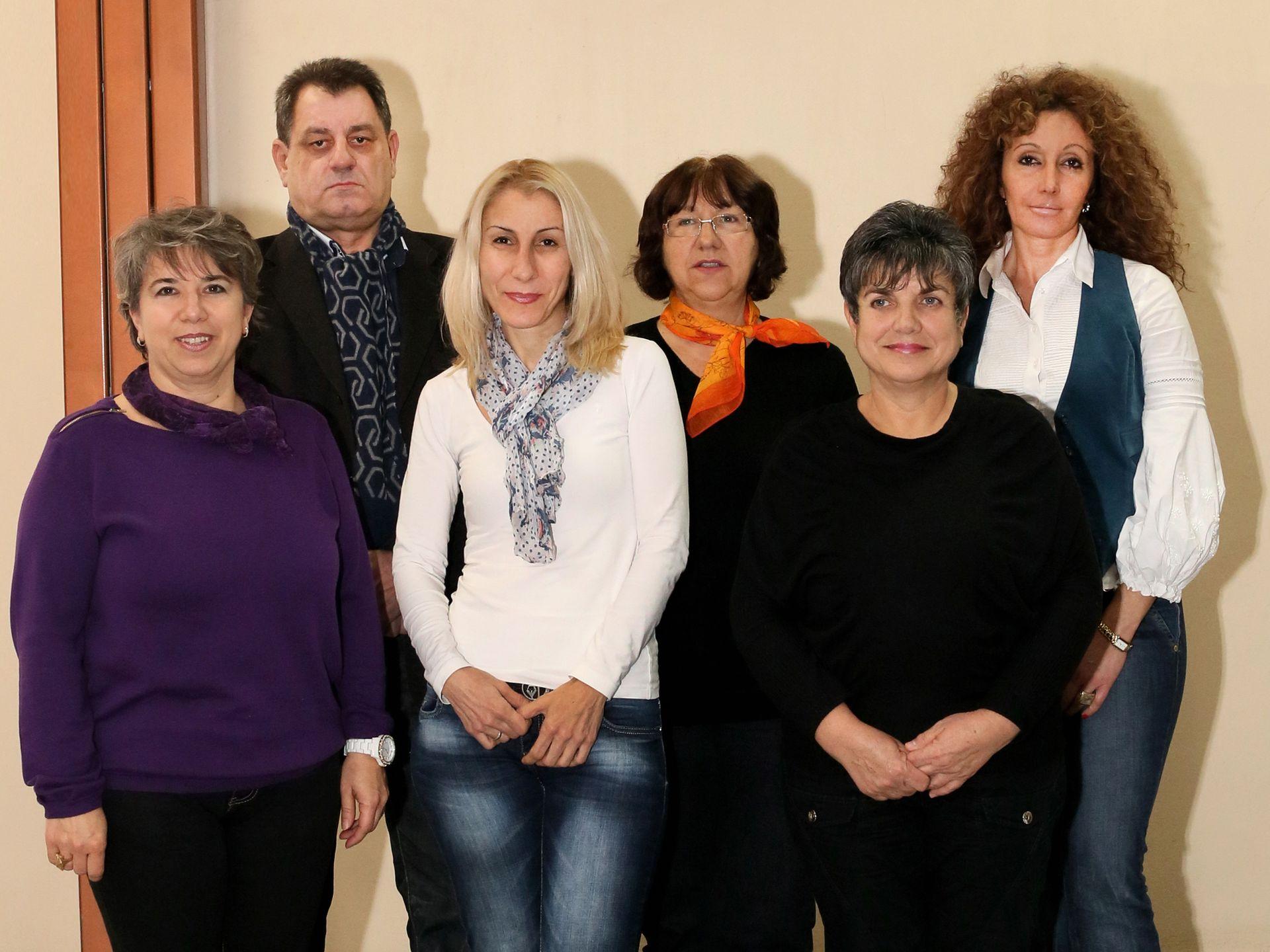 Колектив на специалност Рентгенов лаборант, МК, МУ - Пловдив