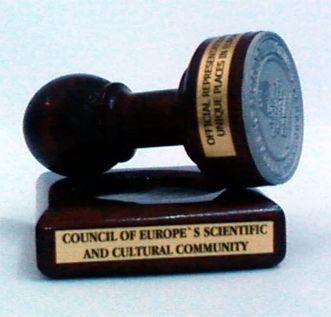 Council of Europe's scientific and cultural community stamp