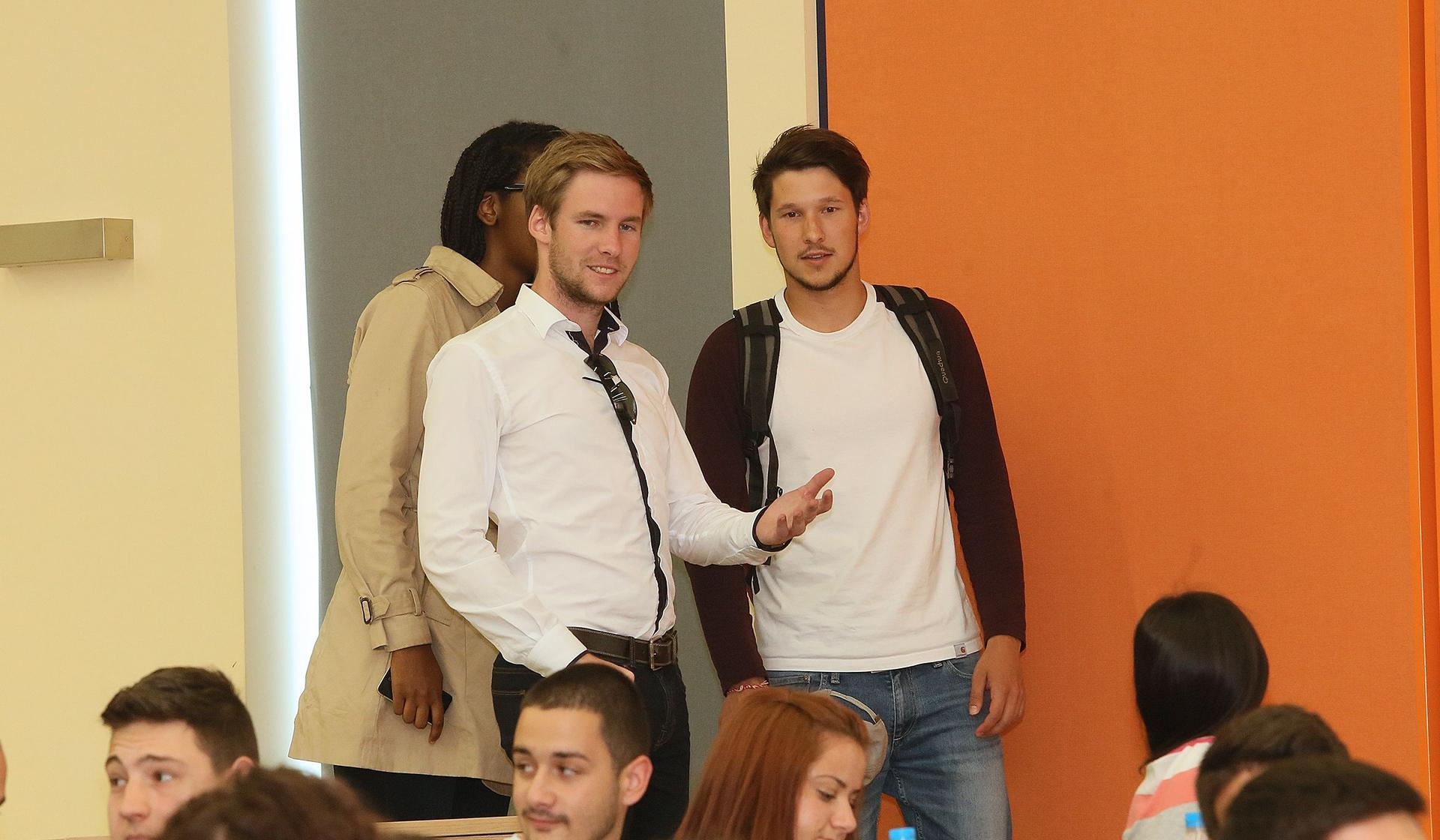 Students, Auditorium Complex, Medical University of Plovdiv