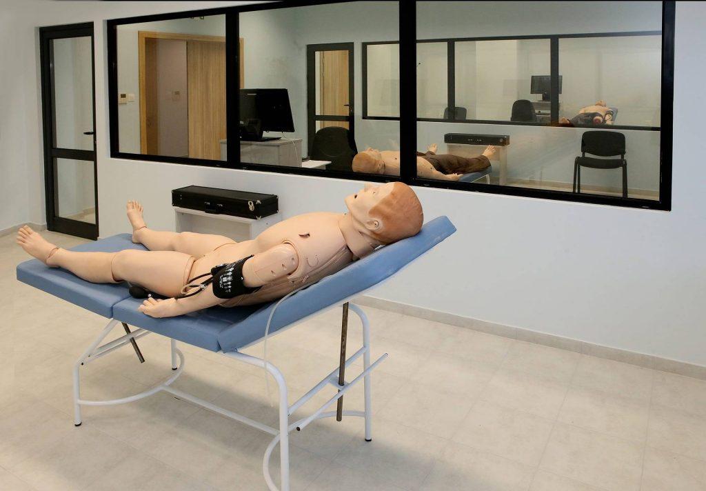 Симулатор - SimMan 3G в Медицински Симулационен Тренировъчен Център на МУ - Пловдив