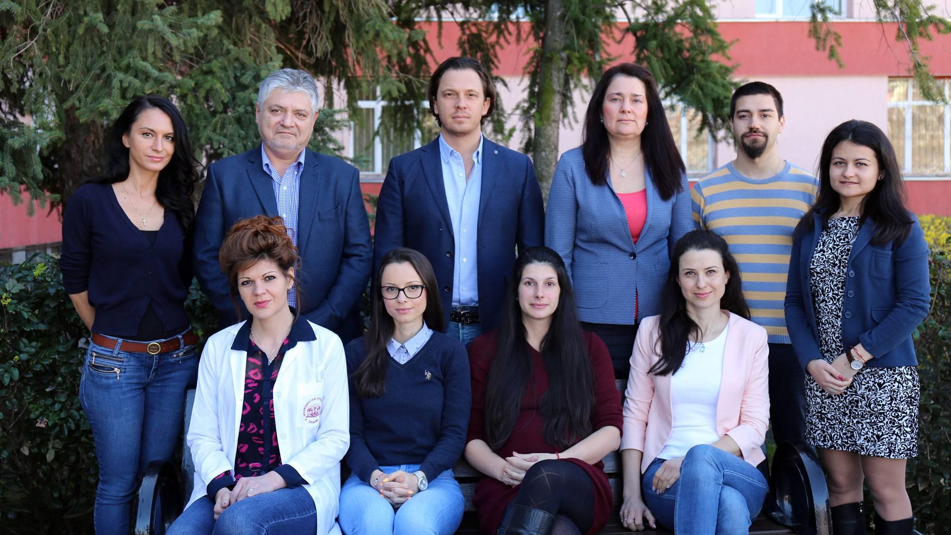 Academic staff - Department of Pharmacognosy and pharmaceutical chemistry, MU-Plovdiv