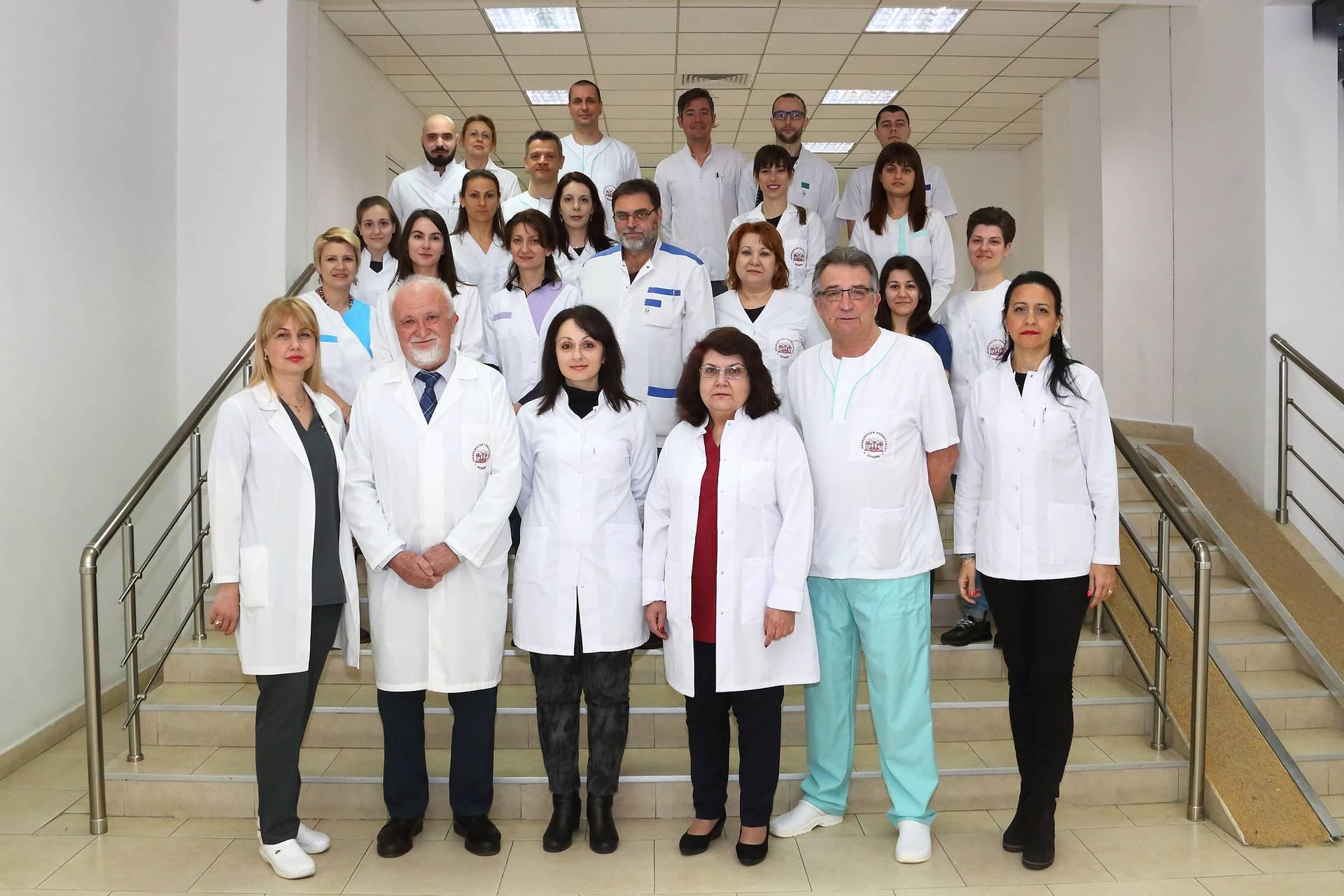 Колектив на катедра по оперативно зъболечение и ендодонтия, ФДМ, МУ - Пловдив