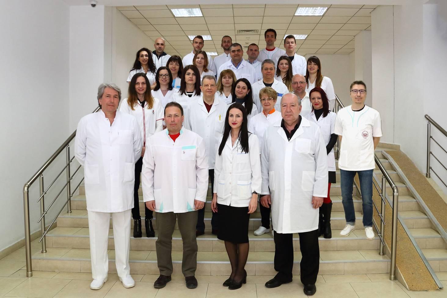 Колектив на катедра по протетична дентална медицина, ФДМ, МУ - Пловдив