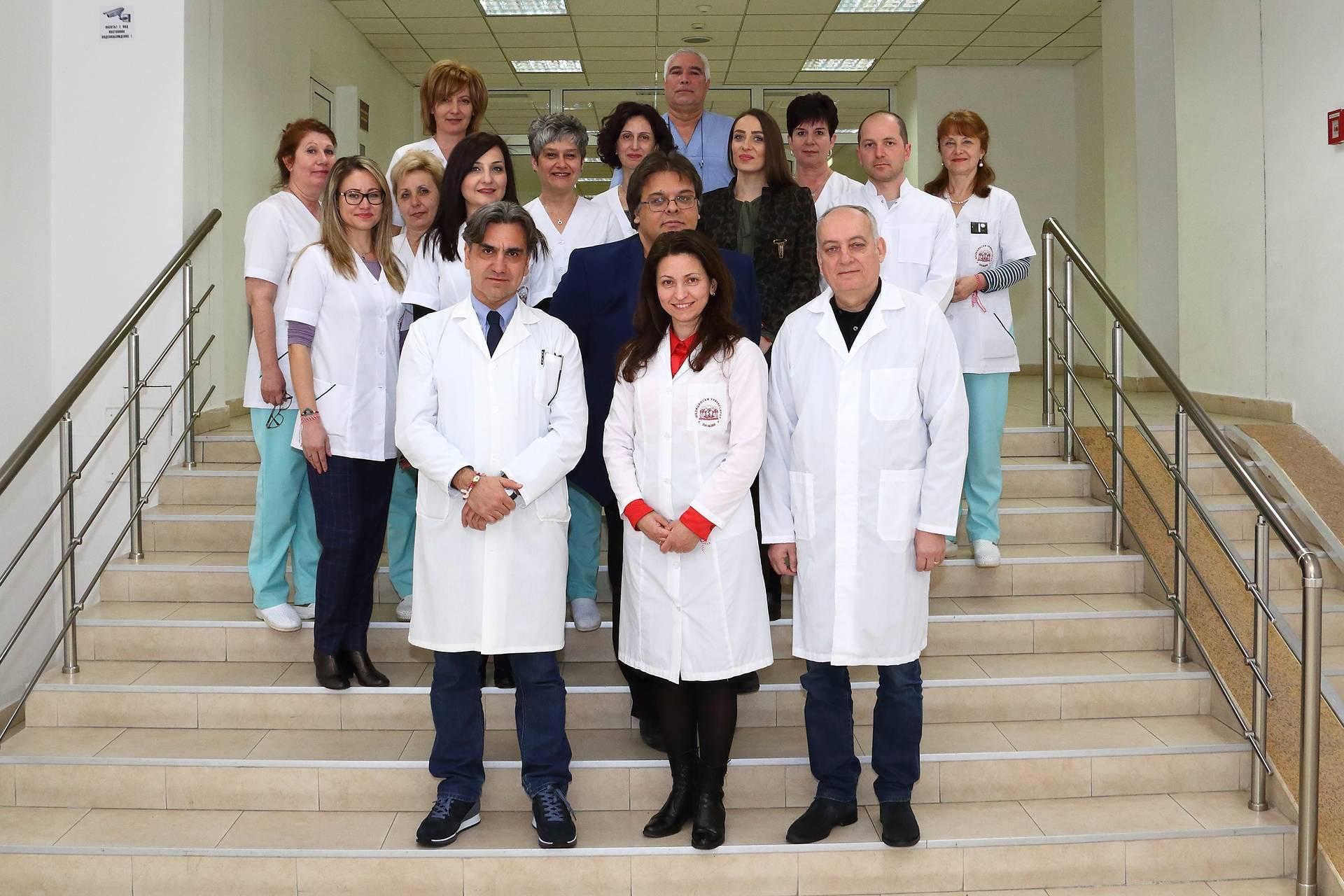 Колектив на катедра по образна диагностика, ФДМ, МУ - Пловдив