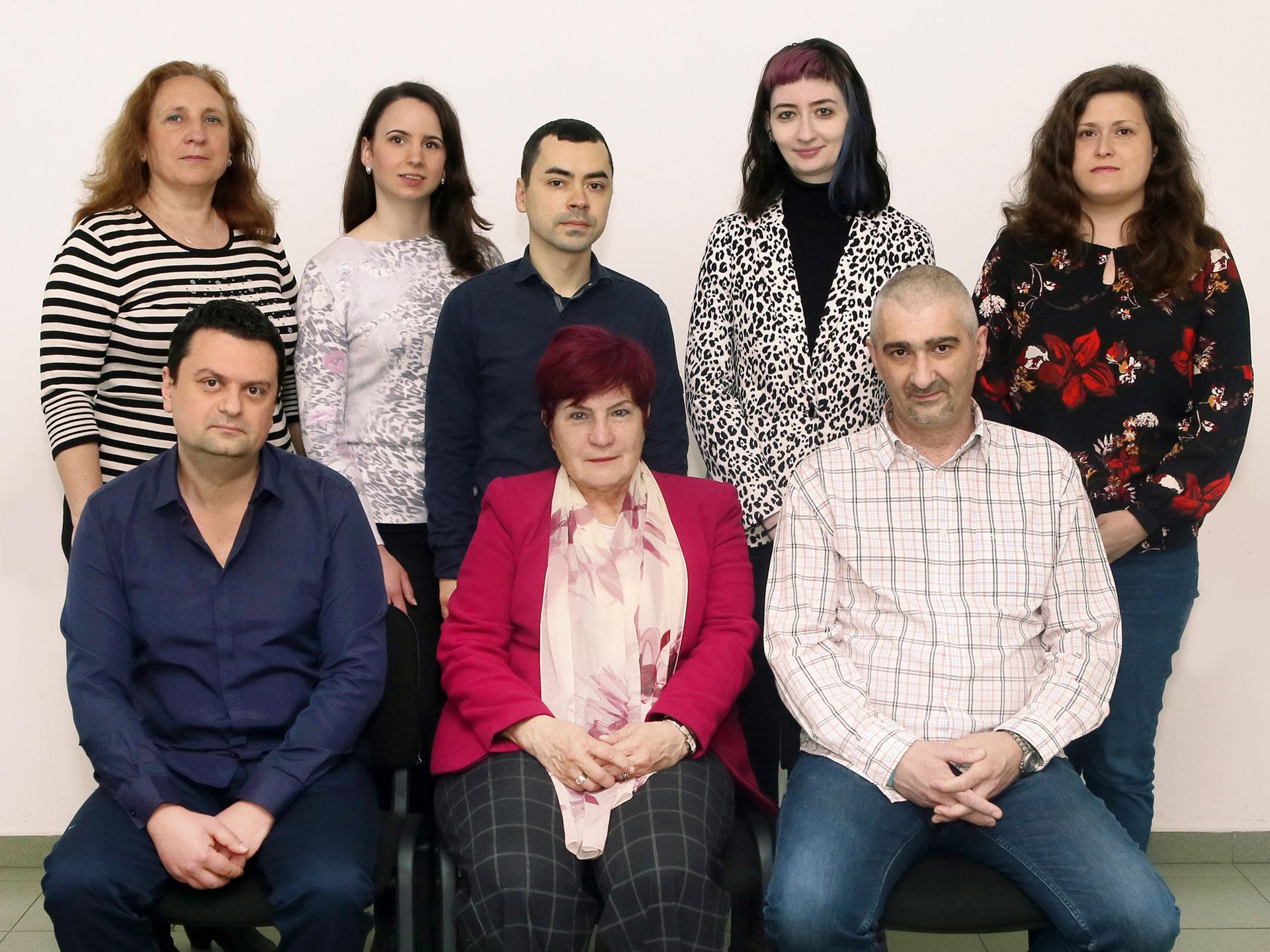 Колектив на катедра по Фармакология и клинична фармакология, Медицински университет - Пловдив