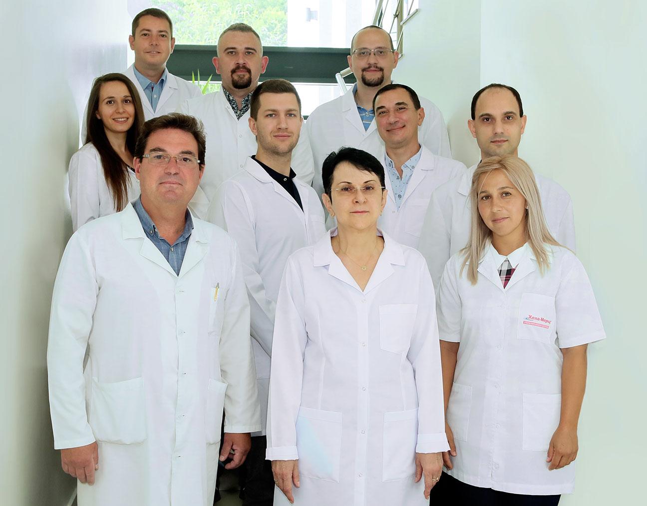 Колектив на секция по гастроентерология, МУ - Пловдив