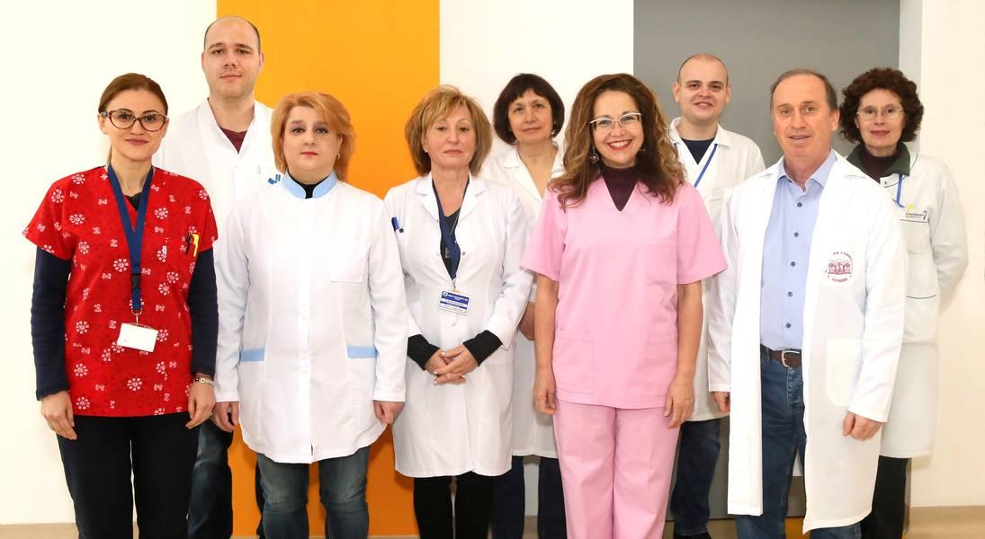 Колектив на катедра Клинична онкология, Медицински университет - Пловдив